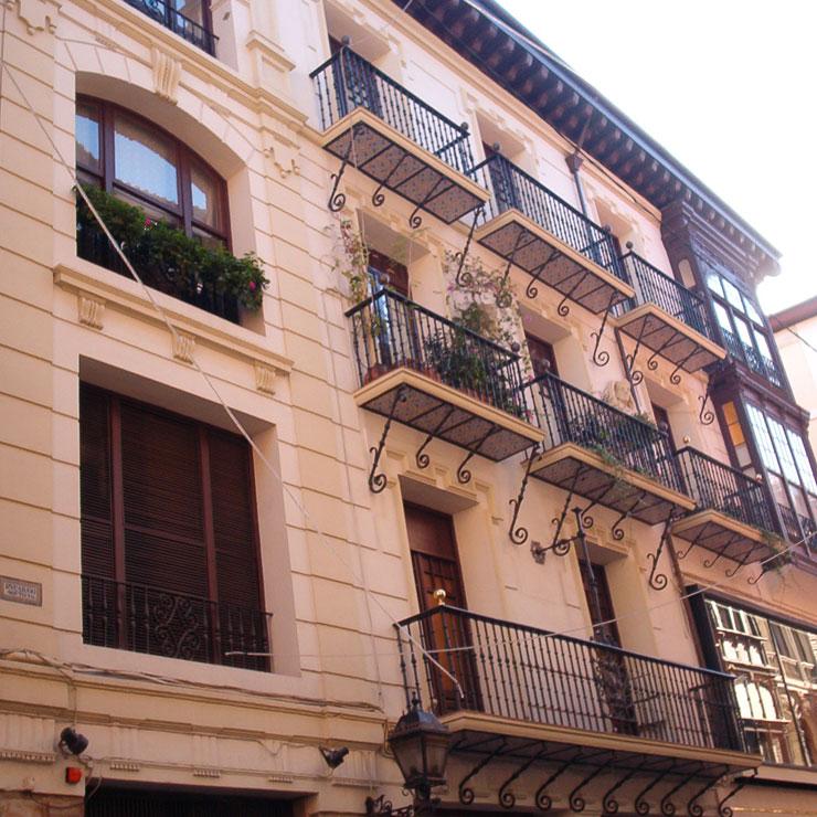 Rehabilitación fachada en Casco Viejo - Bilbao